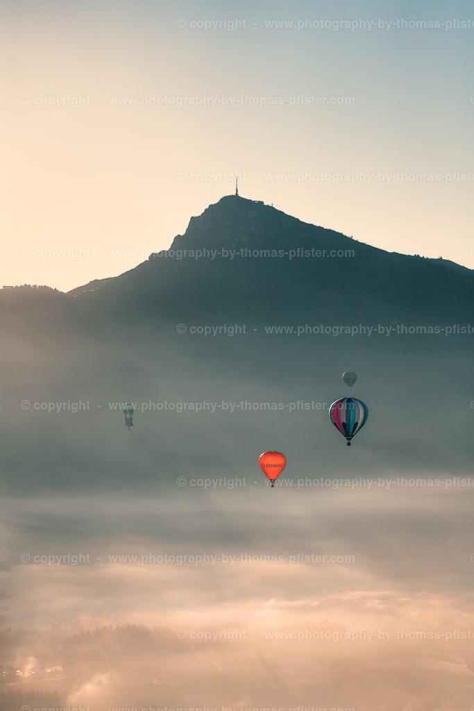 Ballone vor dem Kitzbüheler Horn-1