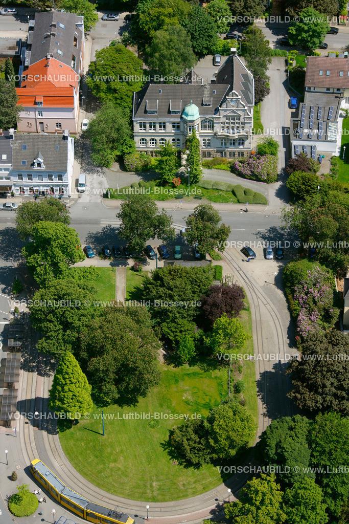 ES10060522 | Bredeney, Bezirksrathaus, Essen, Ruhrgebiet, Nordrhein-Westfalen, Germany, Europa, Foto: hans@blossey.eu, 03.06.2010