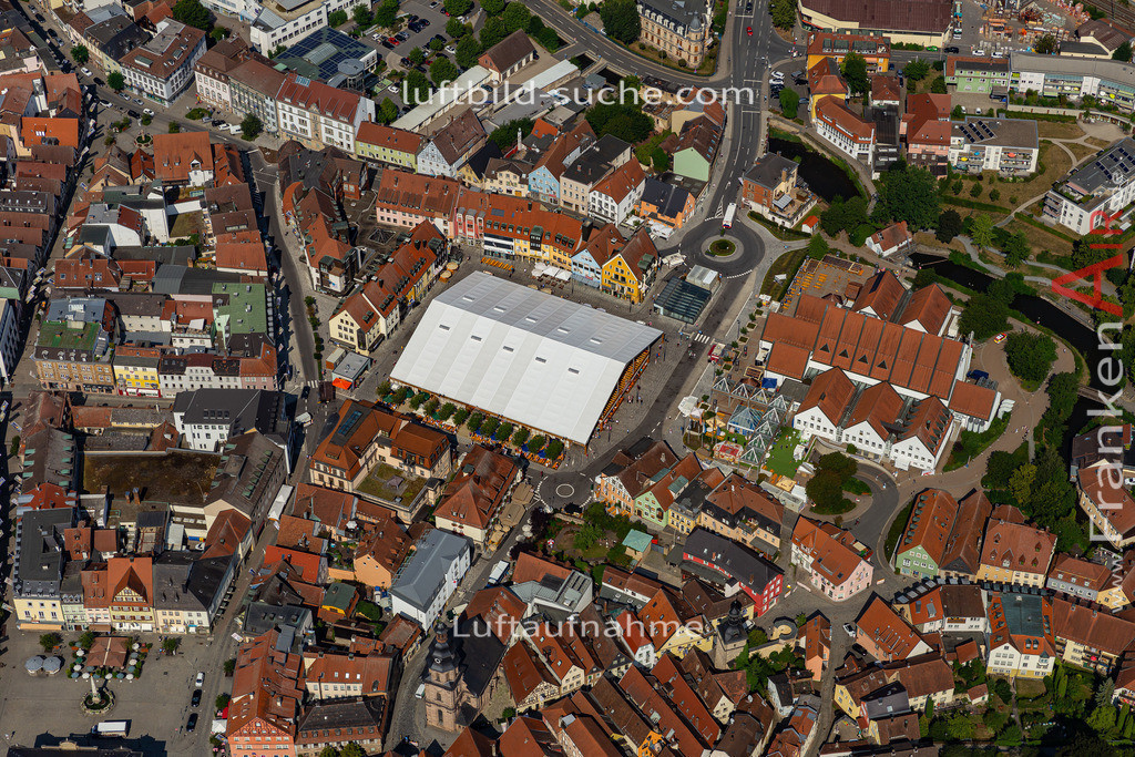 bierfest-2019-kulmbach-19-693 | aktuelles Luftbild von Bierfest-2019  Kulmbach - Luftaufnahme wurde 2019 von https://frankenair.de mittels Flugzeug (keine Drohne) erstellt.