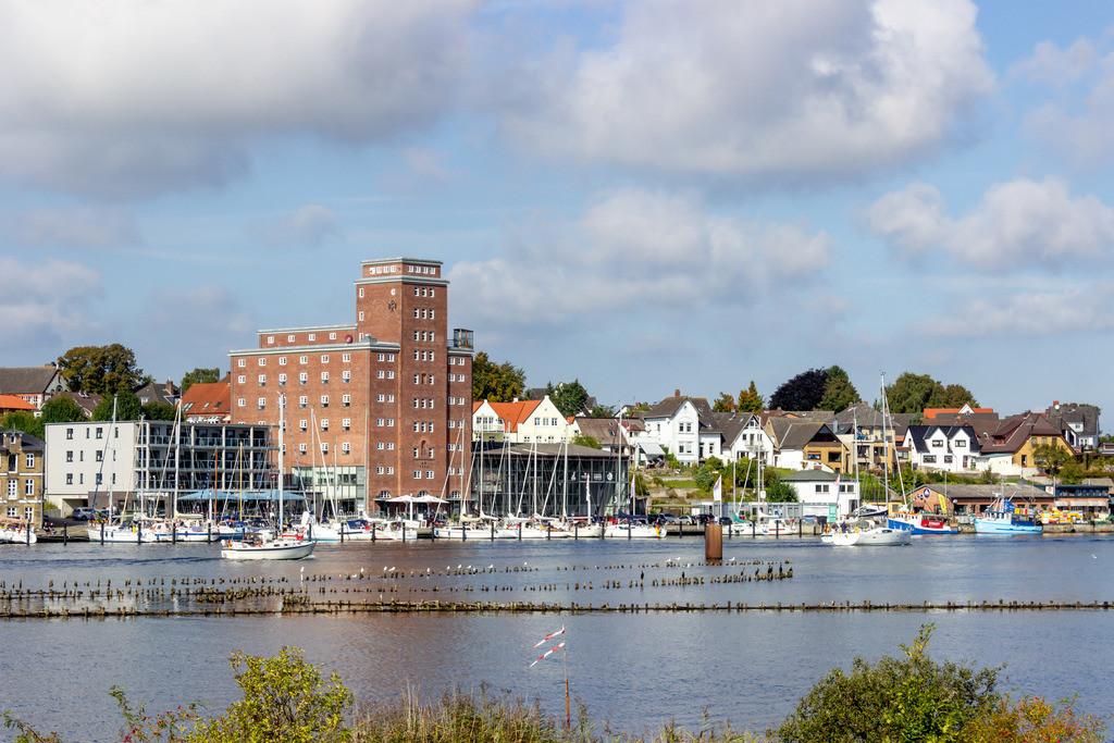 Kappeln an der Schlei | Blick auf den Hafen in Kappeln