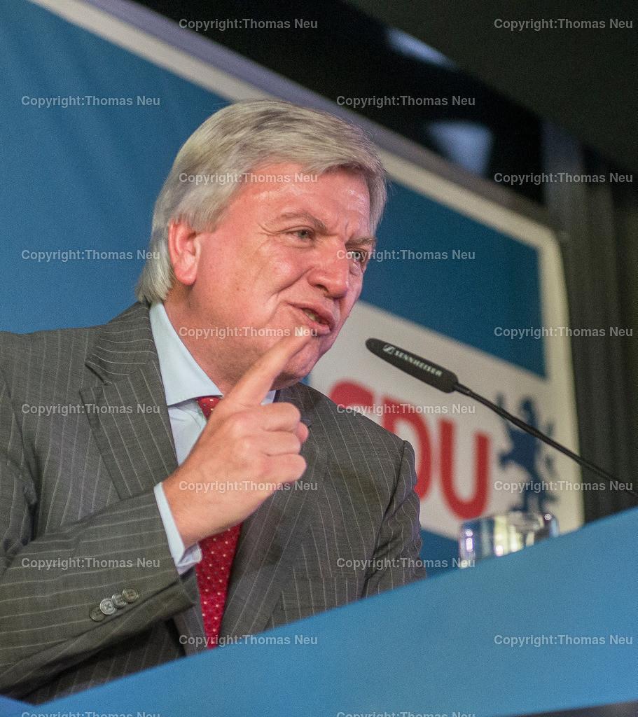 Bouffier-33 2   Alsbach,Wahlveranstaltung der CDU-mit Ministerpraesident Volker Bouffier,, Bild: Thomas Neu