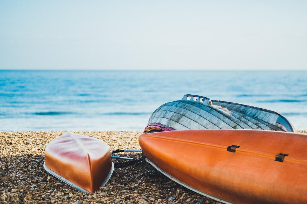 Brighton | Kanu, Boote am Strand, Bootsverleih, Brighton, England