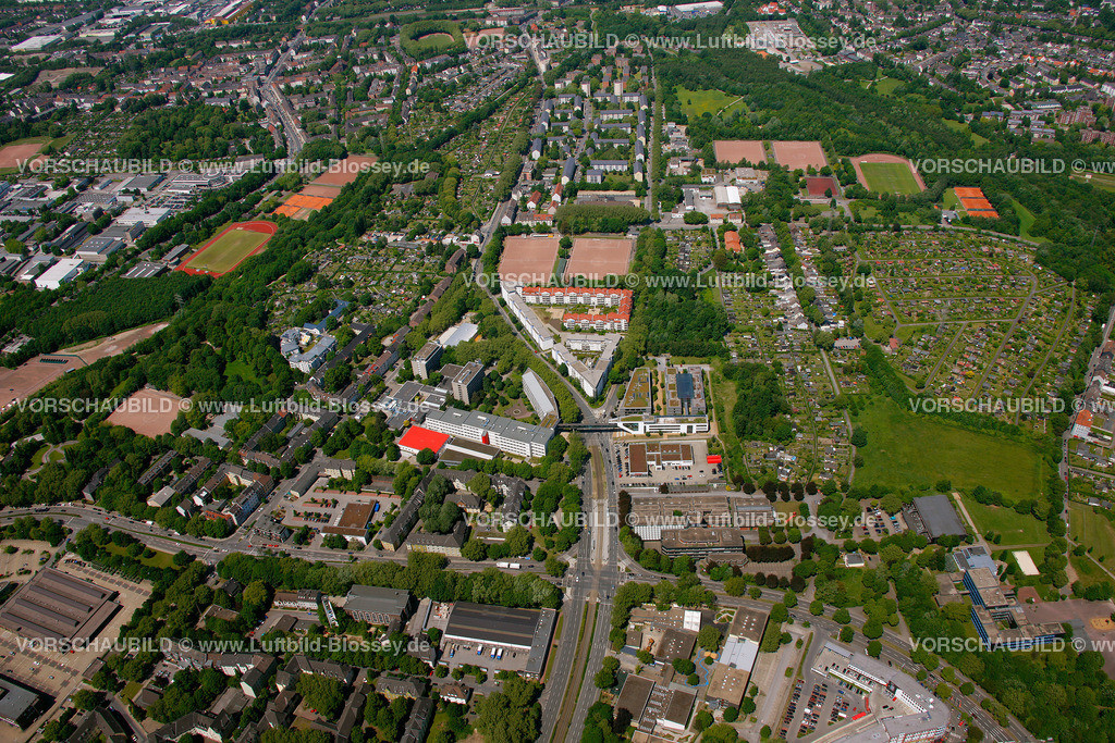 ES10058579 | Bildungspark Essen,  Essen, Ruhrgebiet, Nordrhein-Westfalen, Germany, Europa, Foto: hans@blossey.eu, 29.05.2010