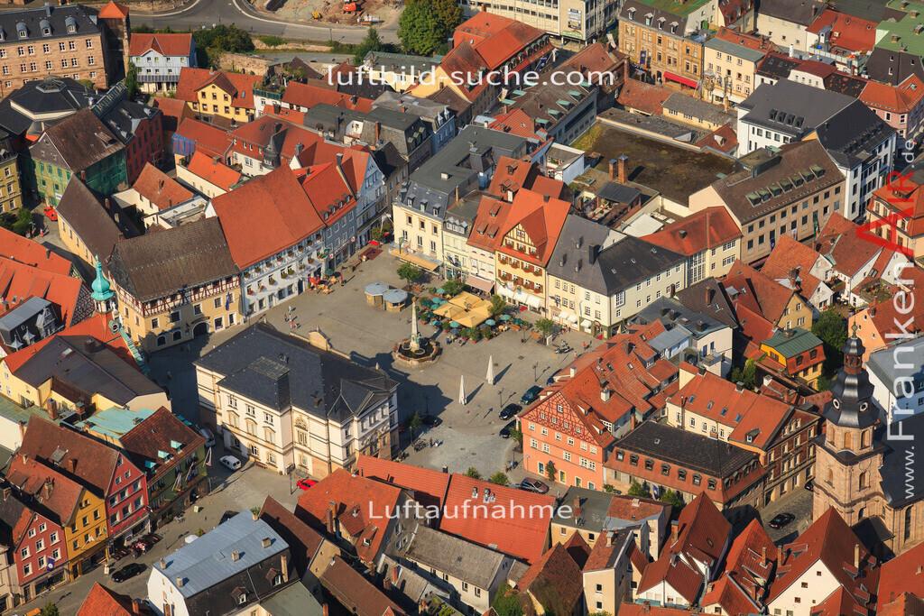 marktplatz-kulmbach-2012-2151 | Luftbild von Marktplatz Kulmbach - Luftaufnahme wurde 2012 von https://frankenair.de mittels Flugzeug (keine Drohne) erstellt - die Geschenkidee