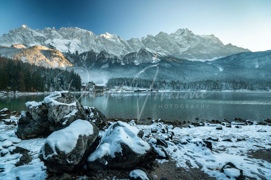 Eibsee | Herrliches Winterwetter am Eibsee