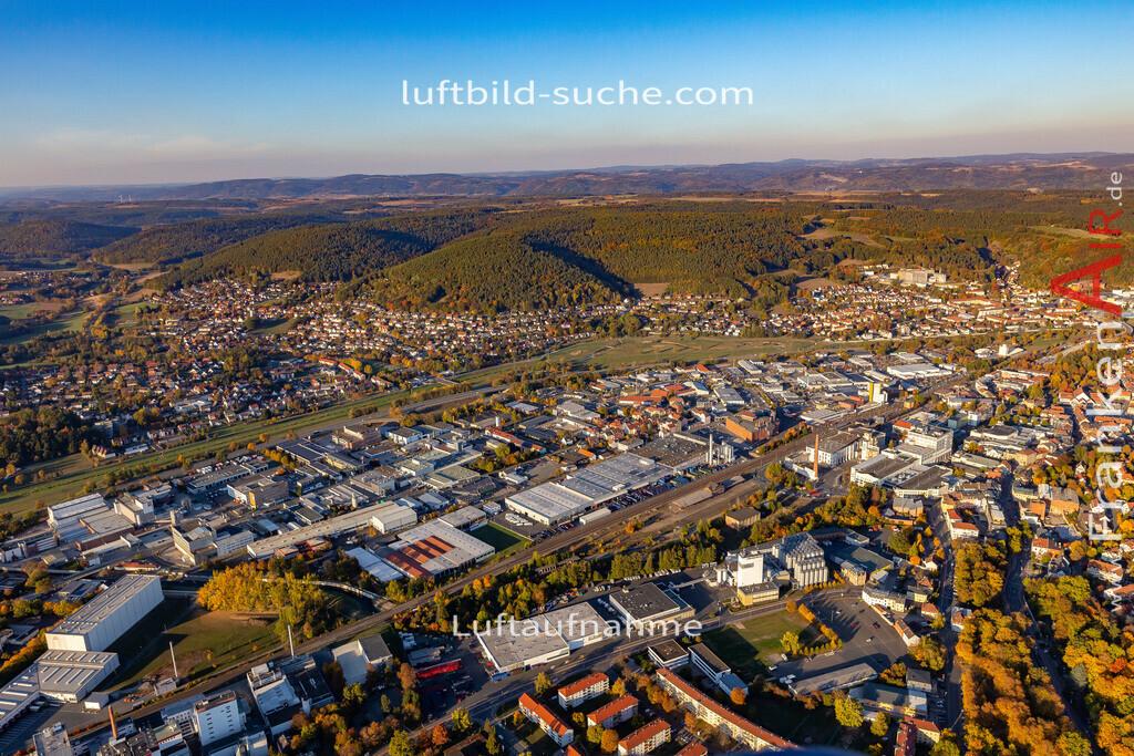 kulmbach-18-2786 | aktuelles Luftbild von  Kulmbach - Luftaufnahme wurde 2018 von https://frankenair.de mittels Flugzeug (keine Drohne) erstellt.