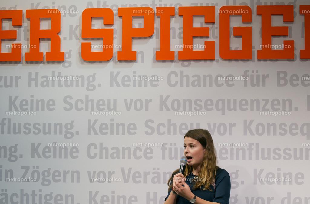 Luisa Neubauer und DER SPIEGEL (2)