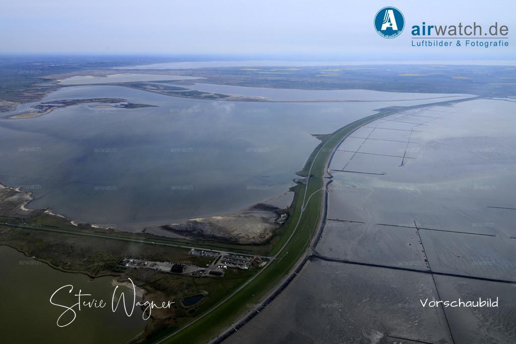 Luftbilder, Nordsee, Beltringharder Koog, Luettmoorsiel, Hattstedtermarsch  | Luftbilder, Nordsee, Beltringharder Koog, Luettmoorsiel, Hattstedtermarsch