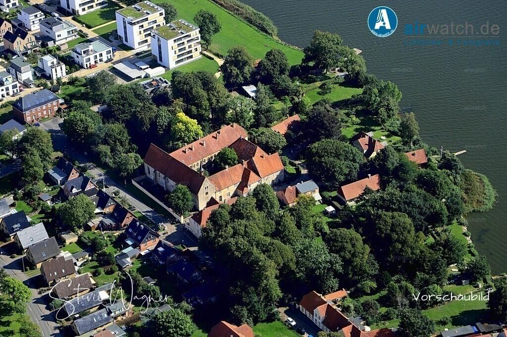 Luftbild Schleswig, Auf der Freiheit, St.Johanniskloster | Luftbild Schleswig, Auf der Freiheit, St.Johanniskloster • max. 6240 x 4160 pix