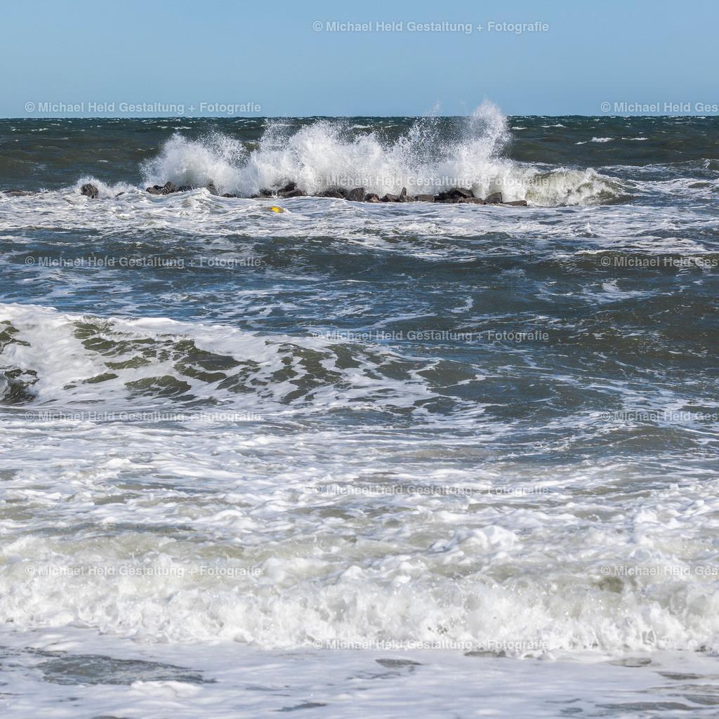 Ostsee bei Sturm | Die Ostsee bei 8 Windstärken aus Nordost.