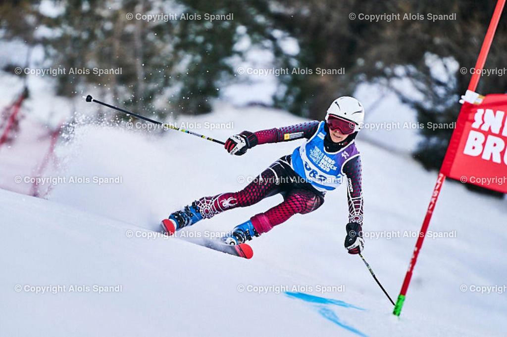 ALS5594_WWMG_GS-II_C | (C) FotoLois.com, Alois Spandl, WinterWorldMastersGames 2020 Innsbruck, Giant Slalom-II Gruppe C Damen, Patscherkofel Olympiaabfahrt, Mi 15. Jänner 2020.