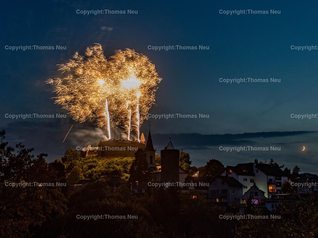 DSC_8591 | Lindenfels, Burgfest Startschuss mit Lampionumzug und Feuerwerk, ,, Bild: Thomas Neu