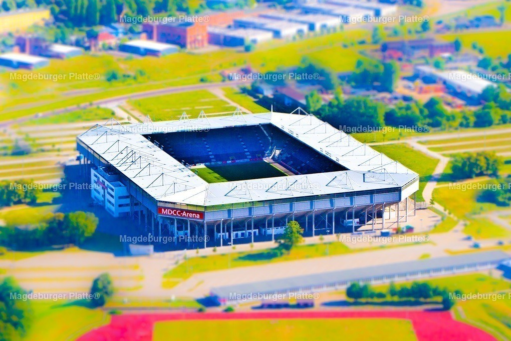 Luftbild Magdeburg MDCC Arena Miniatur IMG_2213