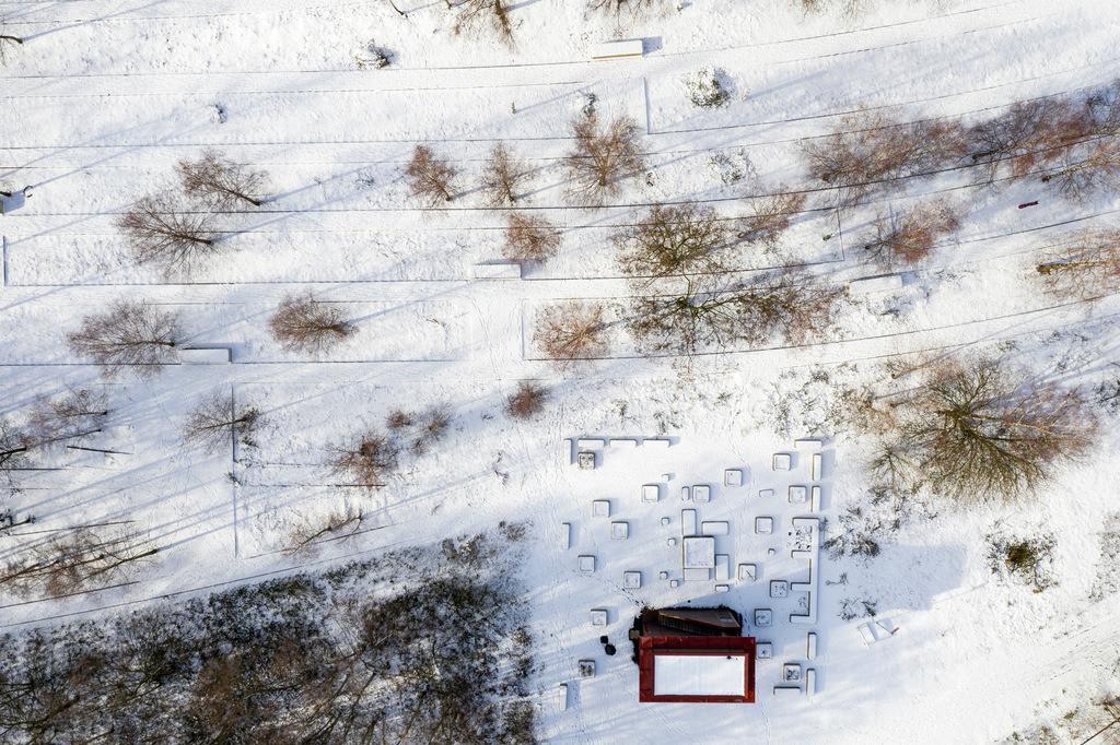 JT-190201-008 | Zollverein Park im Winter, ehemalige Gleise