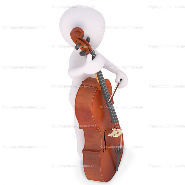 playing viole on a concert