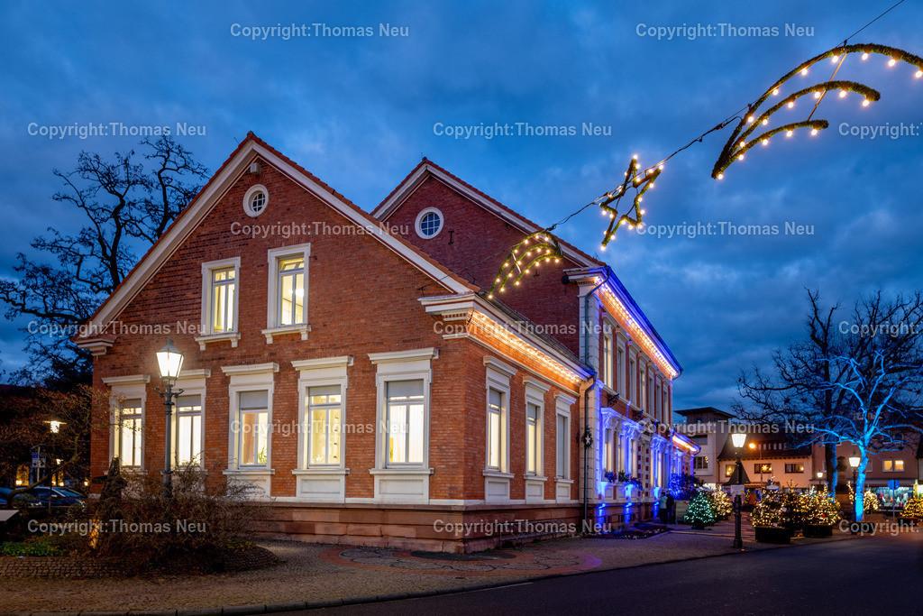 DSC_4092 | ble,Lorsch, blaues Weihnachtswunder, Innenstadt, ,, Bild: Thomas Neu