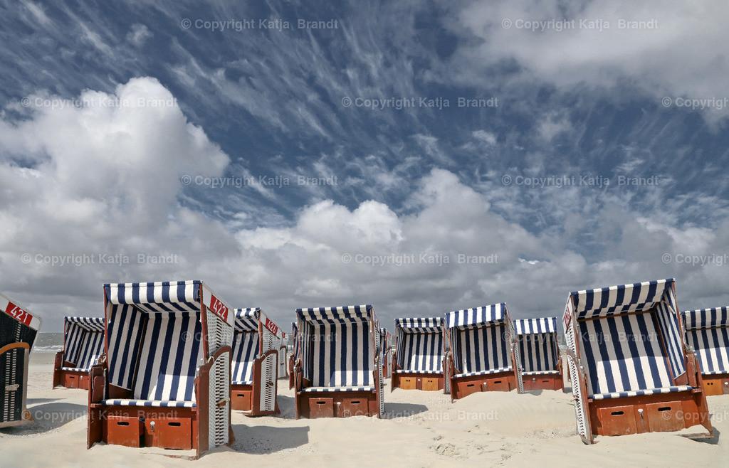 Strandkorb-Wolkenb