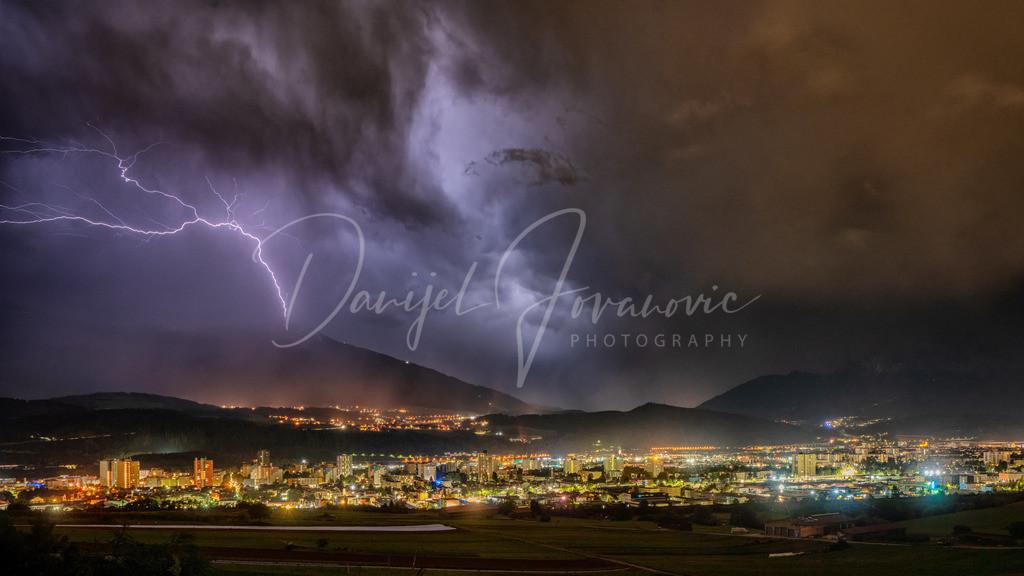 Patscherkofel | Blitzeinschlag in den Sender am Patscherkofel