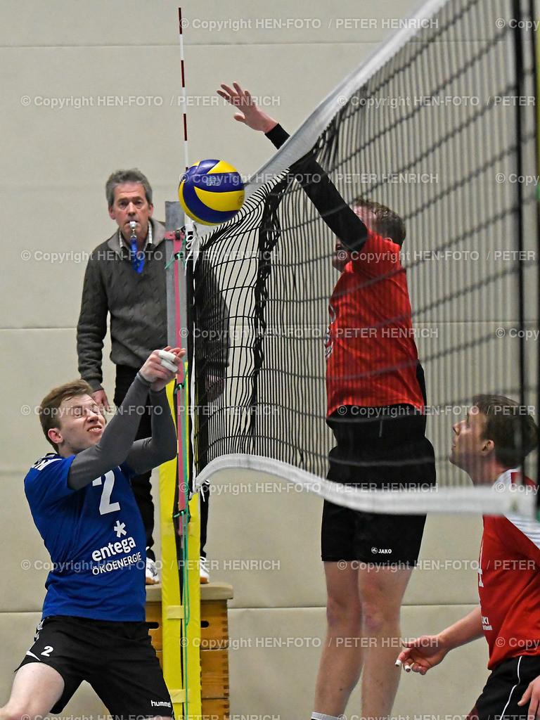 Volleyball Oberliga Orplid Darmstadt - TG Hanau 20190317 - copyright HEN-FOTO (Peter Henrich)   Volleyball Oberliga Orplid Darmstadt - TG Hanau 20190317 li 2 Markus Wedel (DA) re 5 Florian Baumecker (H) copyright HEN-FOTO (Peter Henrich)