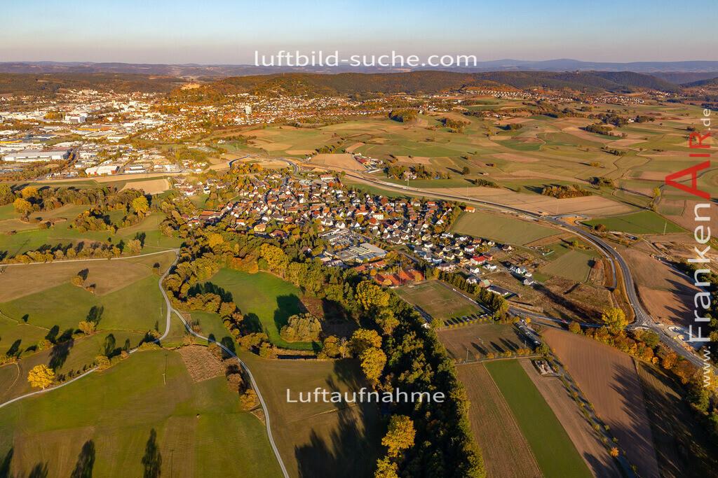 melkendorf-kulmbach-18-360 | aktuelles Luftbild von Melkendorf Kulmbach - Luftaufnahme wurde 2018 von https://frankenair.de mittels Flugzeug (keine Drohne) erstellt.