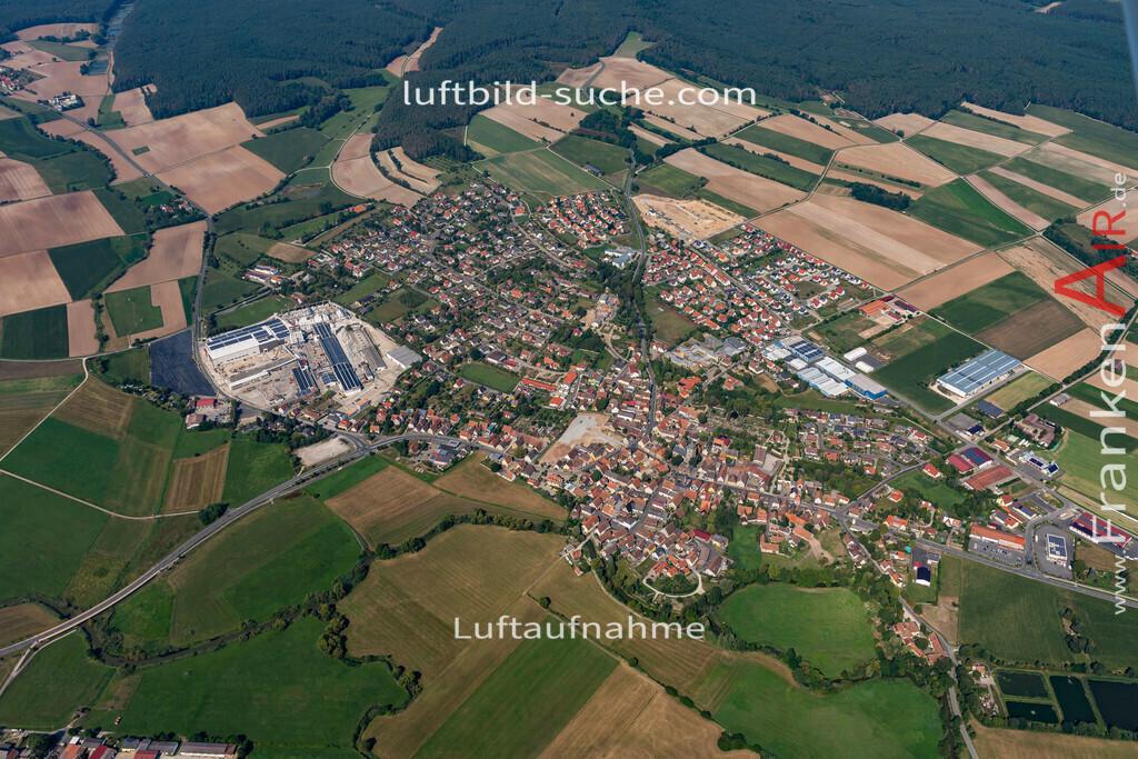 uehlfeld-19-572 | aktuelles Luftbild von Uehlfeld   - Luftaufnahme wurde 2019 von https://frankenair.de mittels Flugzeug (keine Drohne) erstellt.
