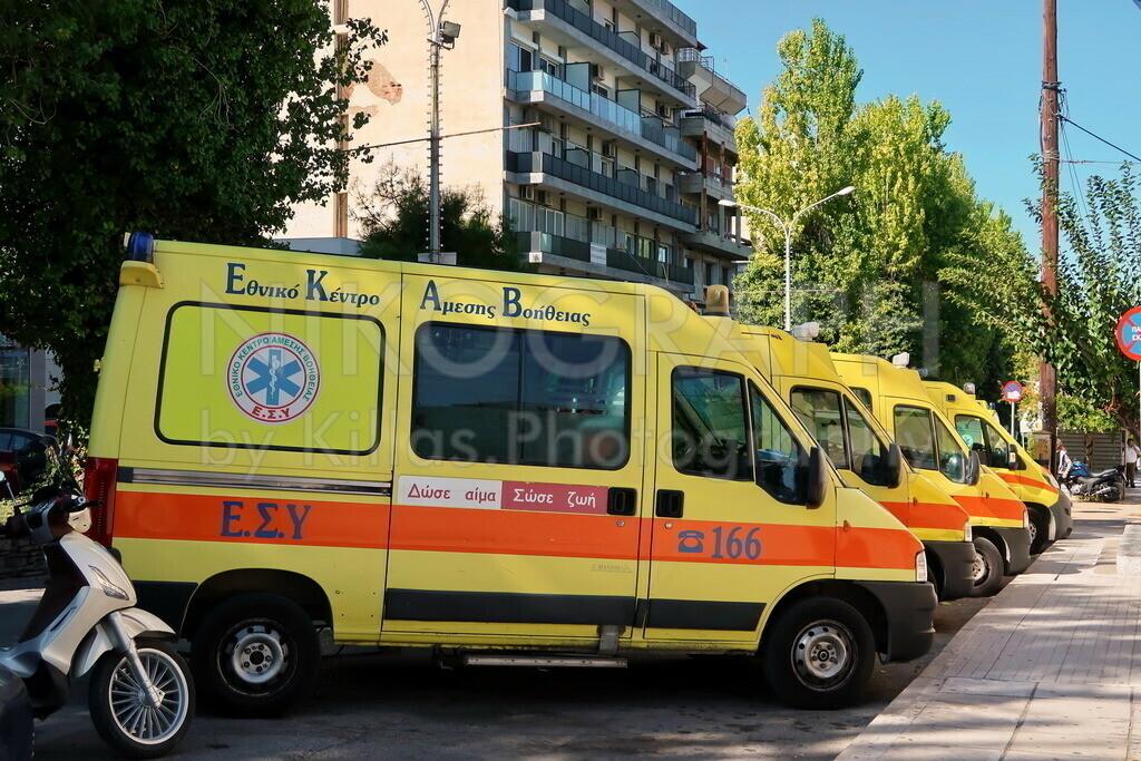 EKAB - der griechische Rettunngsdienst | Rettungswagen des griechischen Rettungsdienstes