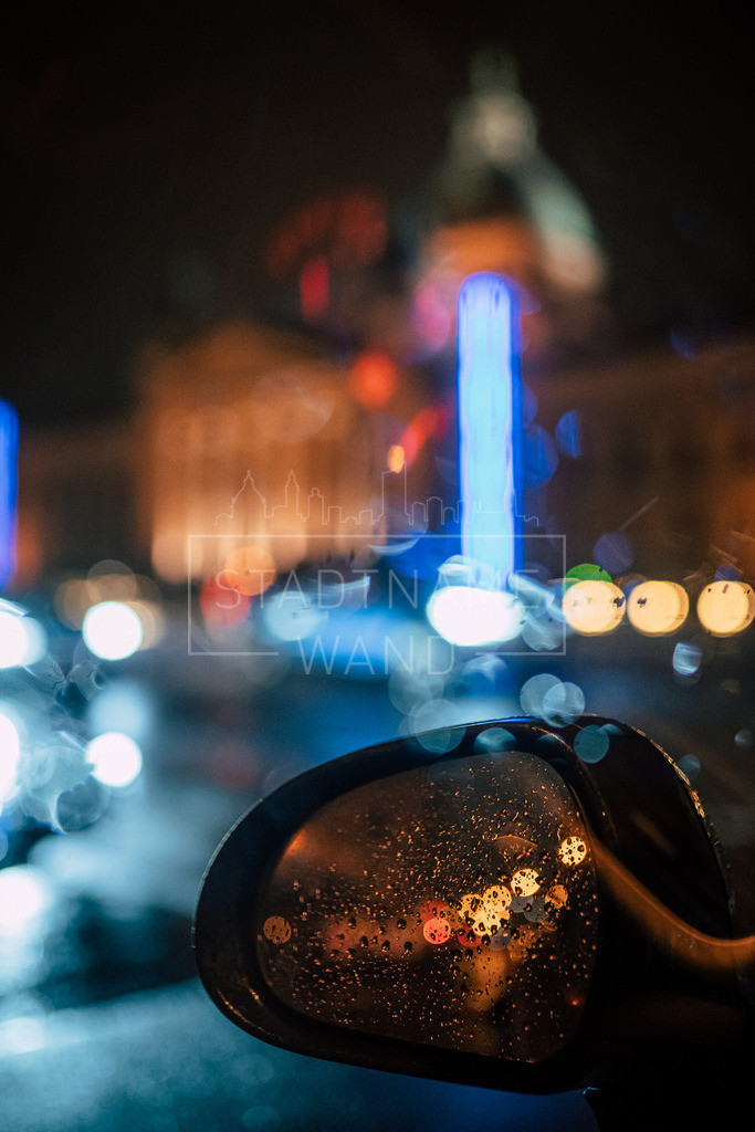 Nachts im Regen Leipzig (2)