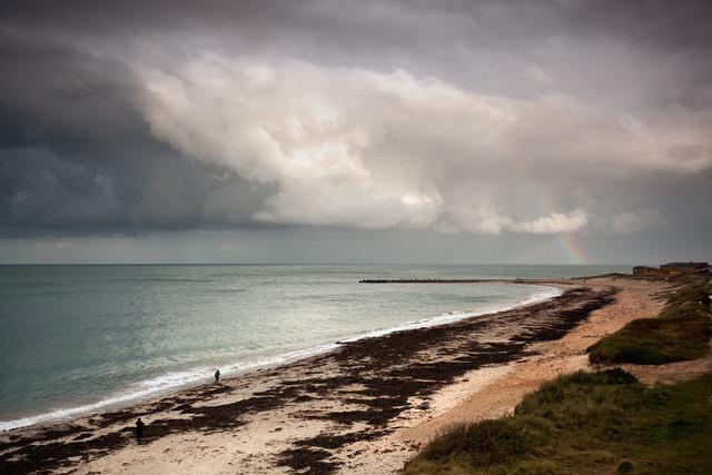 Strand auf Helgoland