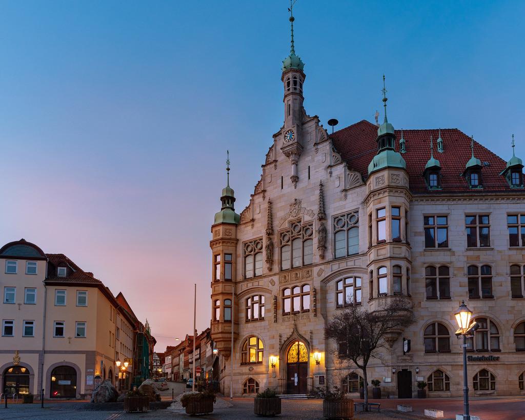 Hemstedt Rathaus Sunrise
