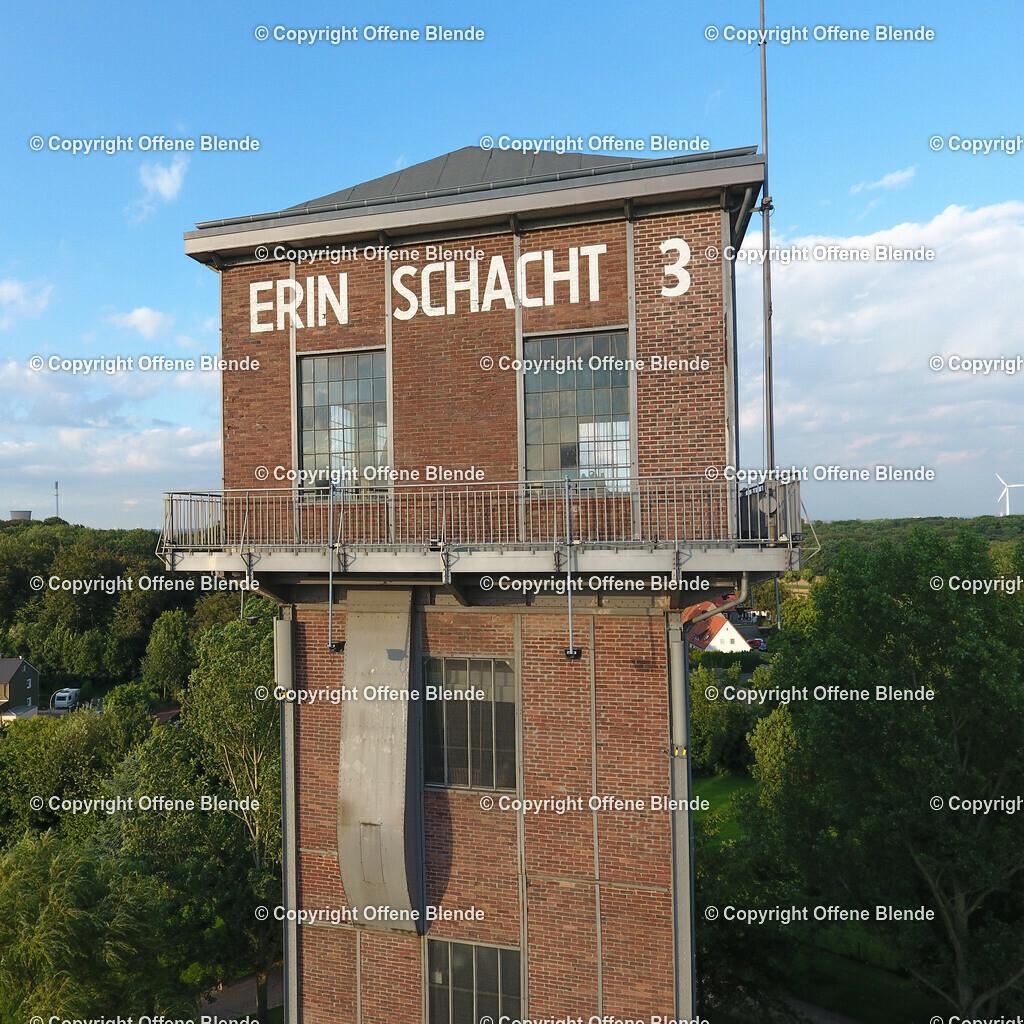 Luftbild Hammerkopfturm auf Schwerin in Castrop-Rauxel | Hammerkopfturm auf Schwerin in Castrop-Rauxel