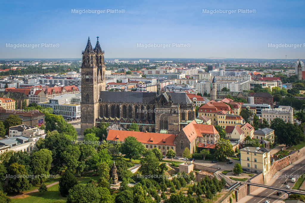 Luftbild Magdeburg Dom-5162