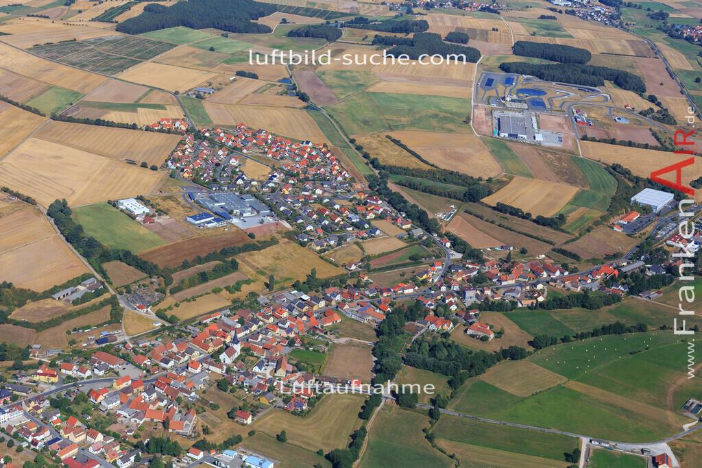 schluesselfeld-2015-2212 | Luftbild von  Schluesselfeld - Luftaufnahme wurde 2015 von https://frankenair.de mittels Flugzeug (keine Drohne) erstellt - die Geschenkidee
