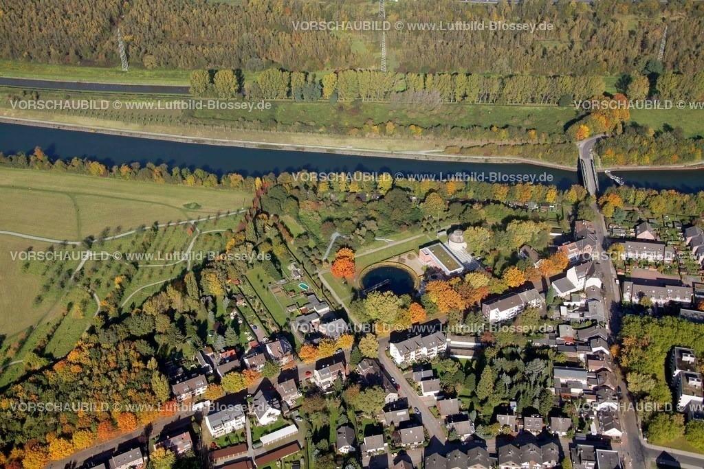 ES10103807 |  Essen, Emscher 160 Kläranlage Läppkes Mühlenbach Ruhrgebiet, Nordrhein-Westfalen, Germany, Europa