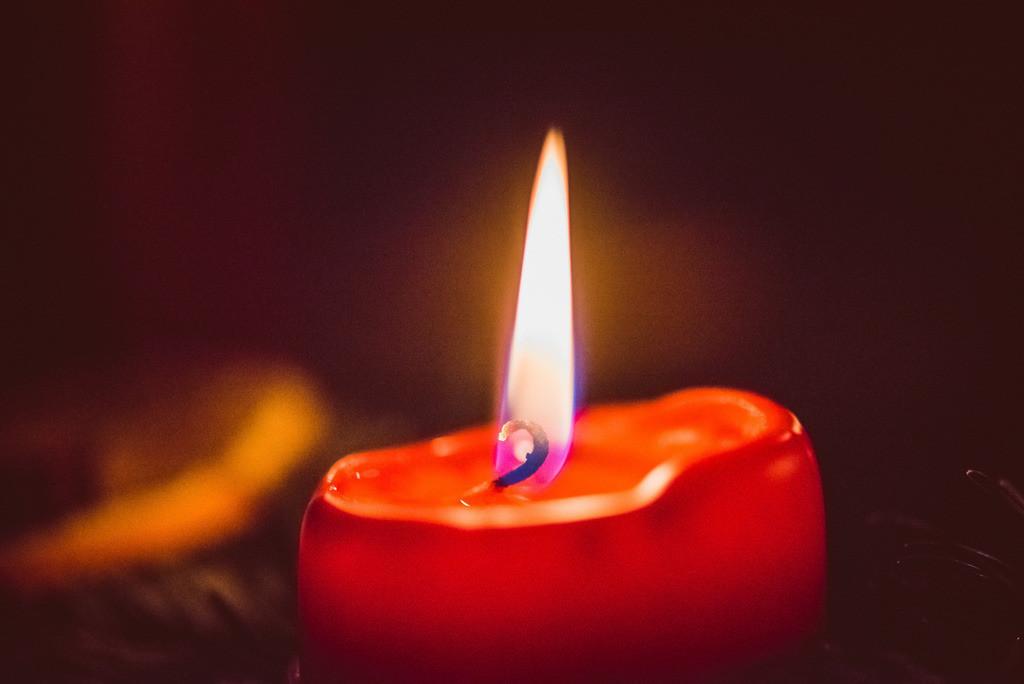 rote Kerze