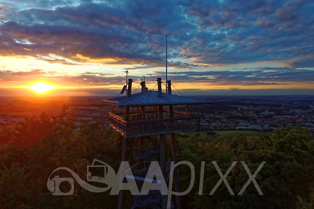 Aalbäumle | ...hervorragende Aussicht aus 26 m Turmhöhe über die