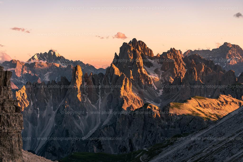 Dolomiten Alpenglühen-6