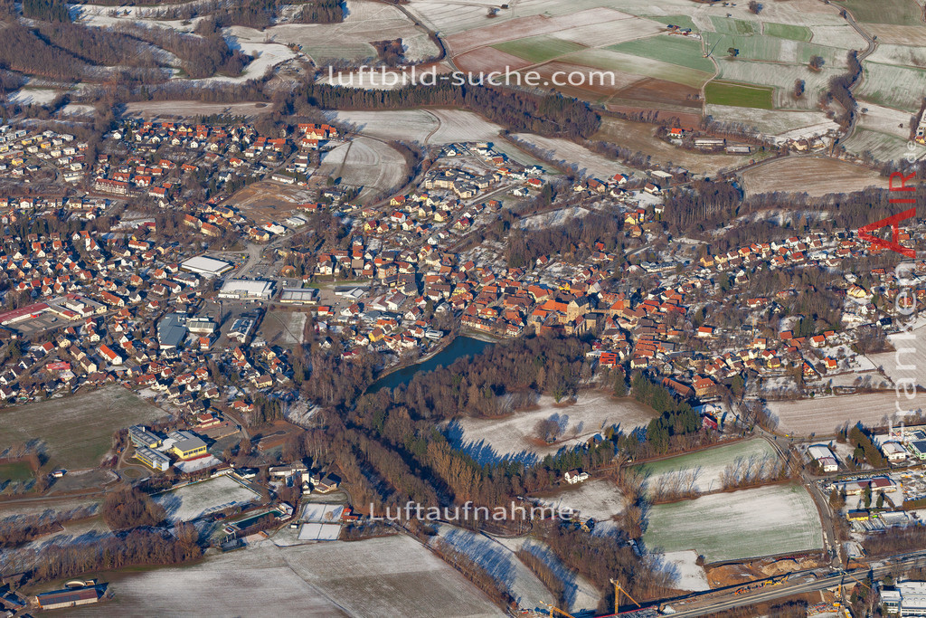 thurnau-19-155 | aktuelles Luftbild von  Thurnau - Luftaufnahme wurde 2019 von https://frankenair.de mittels Flugzeug (keine Drohne) erstellt.