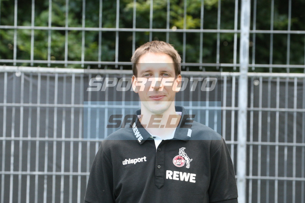 1. FC Köln Fotoshooting | Marvin Kreuzwieser - © Sportfoto-Sale (MK)