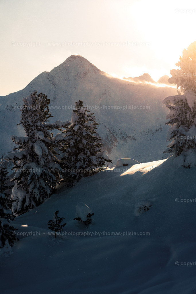 Winteraufnahmen am Penken-2