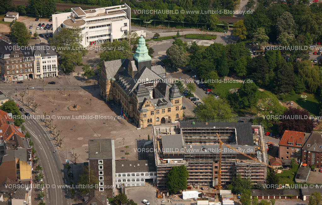 RE11046289 | Behoerdenhaus, Rathaus,  Recklinghausen, Ruhrgebiet, Nordrhein-Westfalen, Germany, Europa