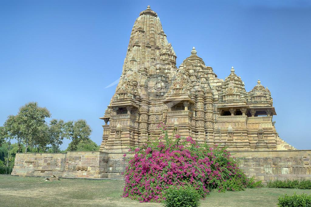Indien_ Tempelbezirk von Khajuraho 04