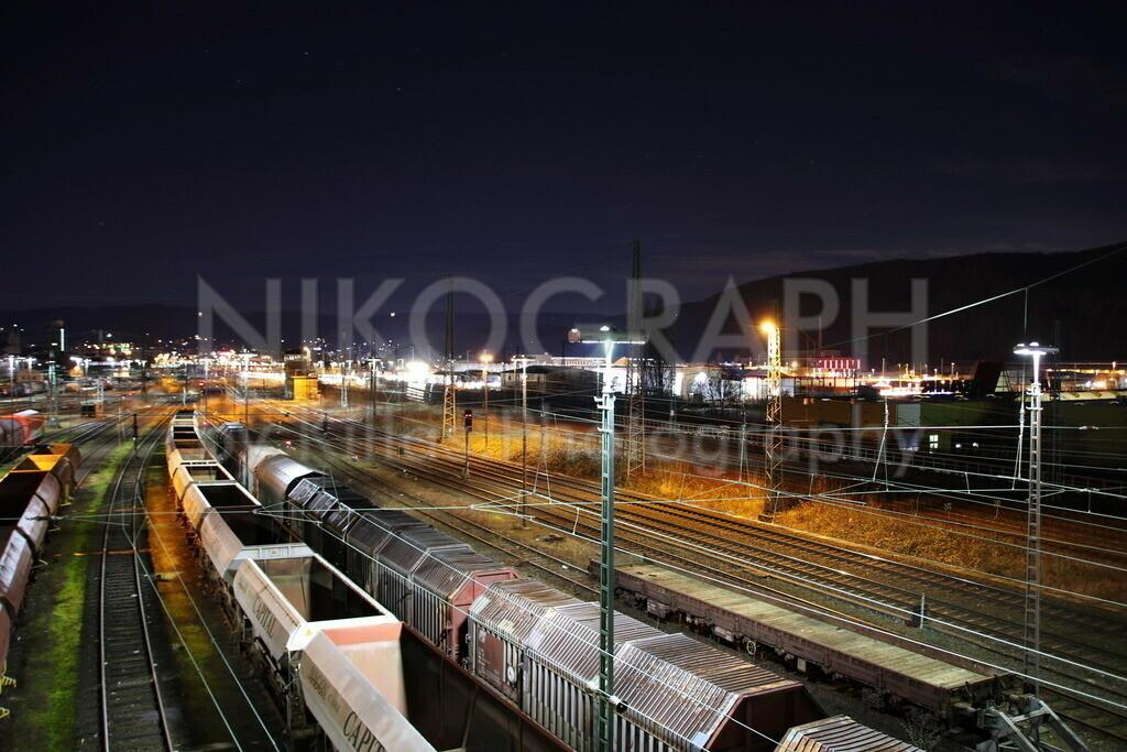 Gleisanlagen in Hagen   Güterwaggons an den Gleisanlagen zwischen Hagen-Altenhagen und Hagen-Vorhalle.