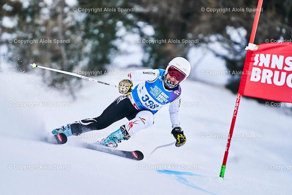 ALS5675_WWMG_GS-II_C | (C) FotoLois.com, Alois Spandl, WinterWorldMastersGames 2020 Innsbruck, Giant Slalom-II Gruppe C Damen, Patscherkofel Olympiaabfahrt, Mi 15. Jänner 2020.