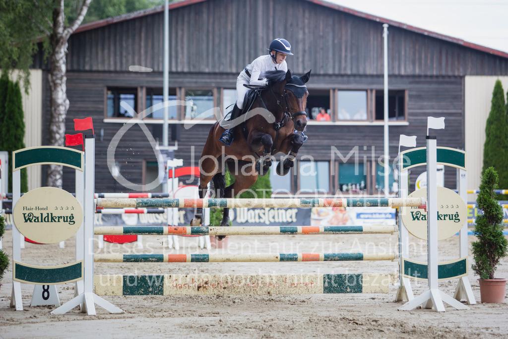 200821_Delbrück_Youngster-M-641 | Delbrück Masters 2020 Springprüfung Kl. M* Youngster Springen 6-8jährige Pferde