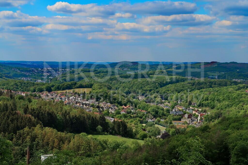 Iserlohns Stadteil Untergrüne | Panaromabild des Stadteils Iserlohn-Untergrüne