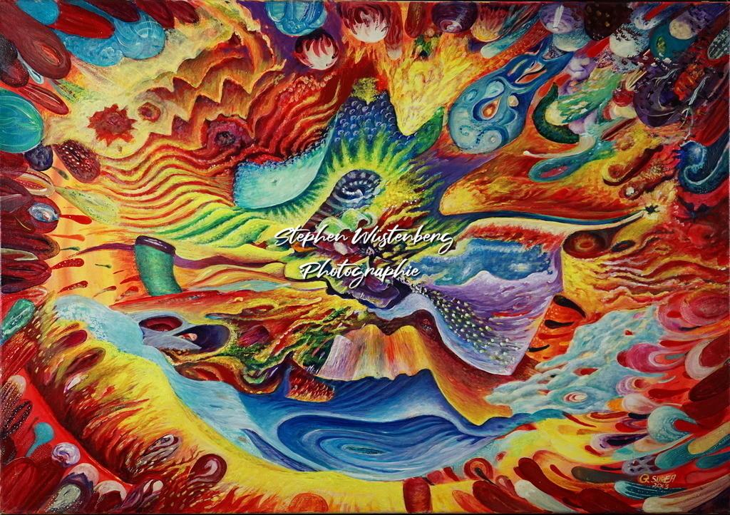 Gingel-0107 | Roland Gingel Artwork @ Gravity Boulderhalle, Bad Kreuznach