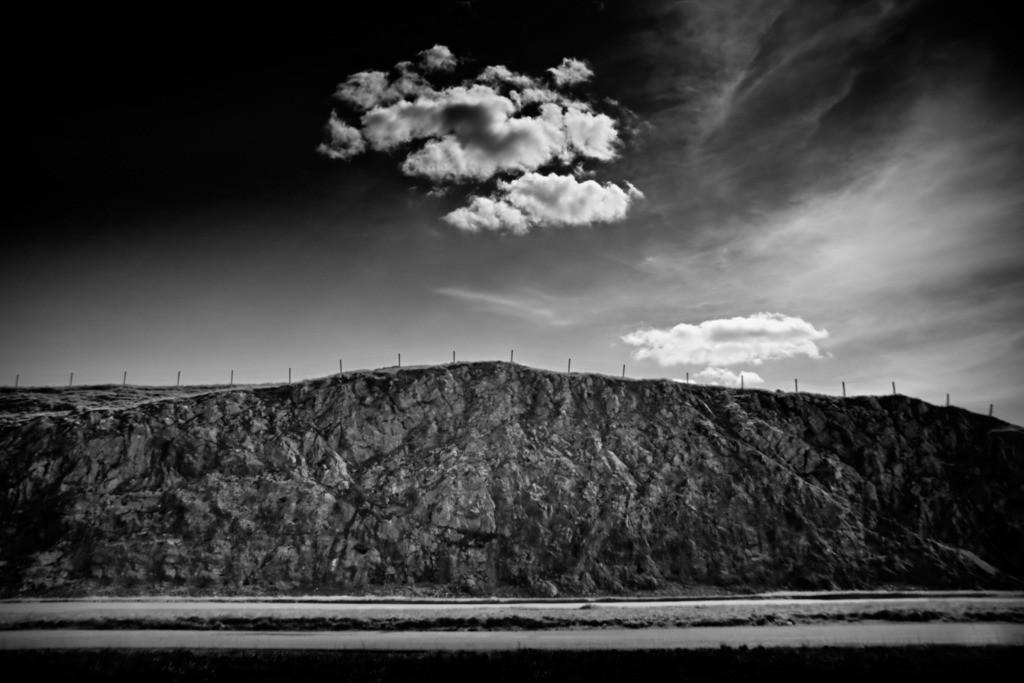 the cloud   Landschaft mit Wolke im Schottischen Hochland. Scottish Highlands.