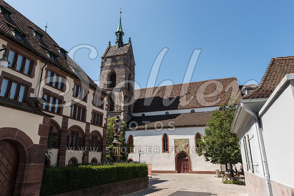 Martinskirche, Basel (BS) | Bei der Martinskirche in Basel, Kanton Basel-Stadt.