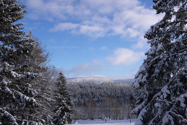 Brockenspitze | Sicht auf Brocken im Harz