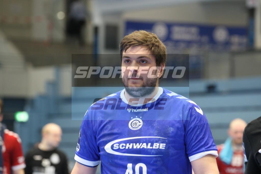 VFL Gummersbach - VFL Lübeck Schwartau | Jonas Stüber - © by Sportfoto-Sale.de